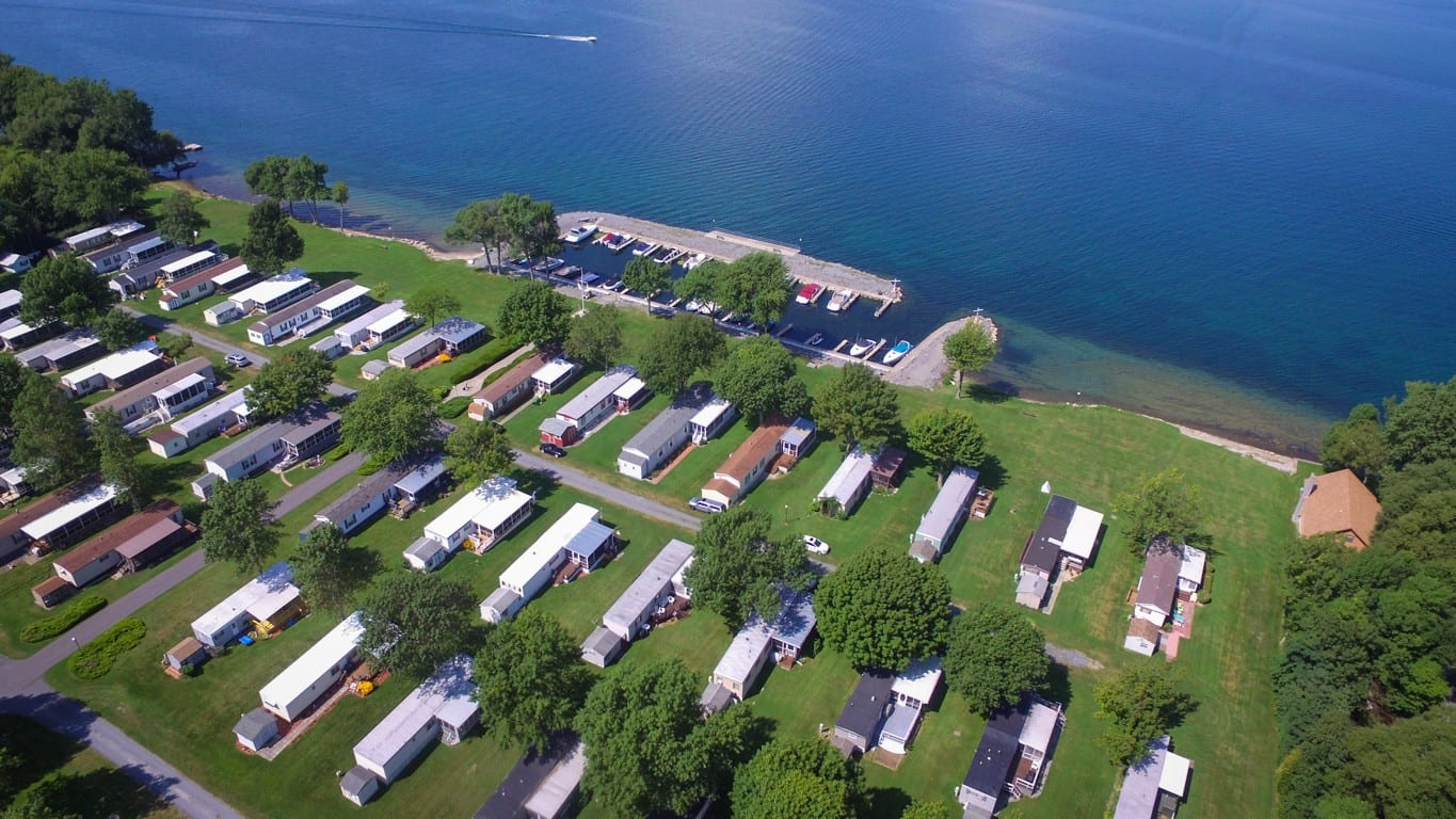 Island Shadows Mobile Home Park Cape Vincent NY